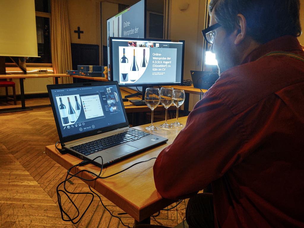 Am 28. November 2020 fand unsere erste Weinprobe in digitale Form statt. Schaut euch an wie es war!
